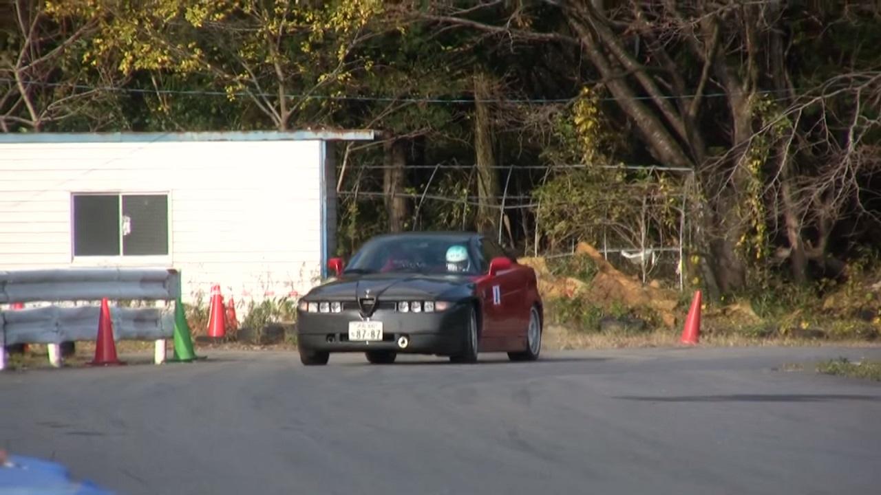 Alfa Romeo SZ - Violentée sur circuit ! 6