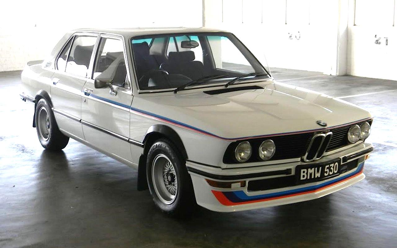 BMW 333i E30, 745i E23 & 530 E12 MLE... Bavaria South Africa ! 37