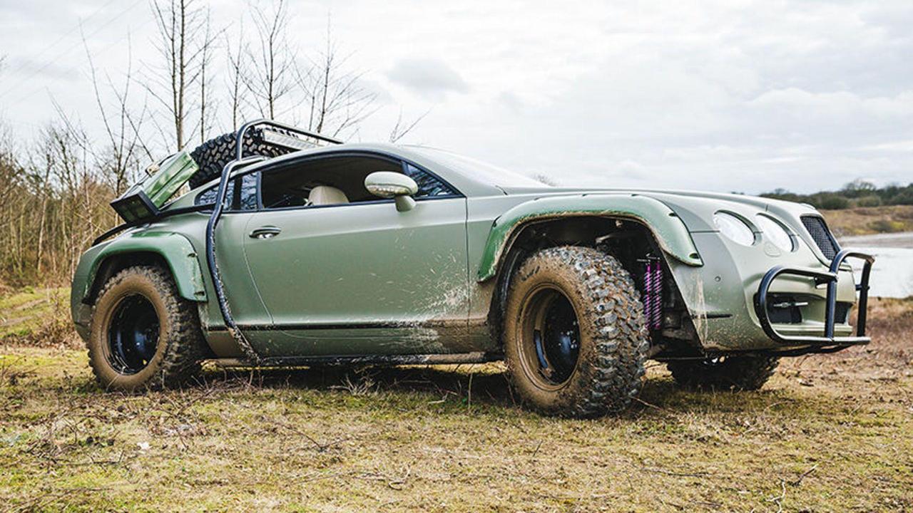 Du Zombie Crush en Bentley Continental GT... 12