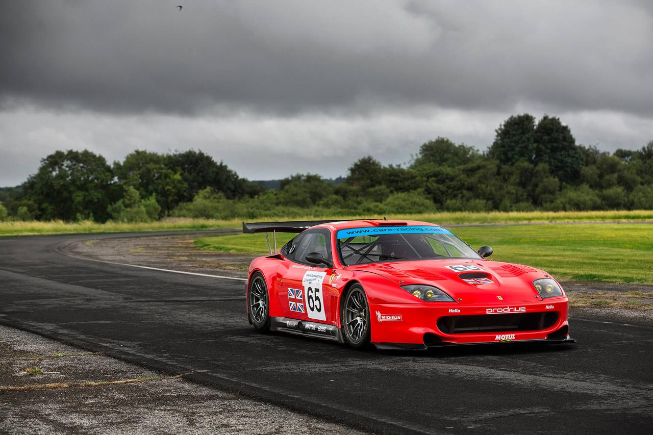 La Ferrari 550 Maranello GTS de Colin McRae... 25