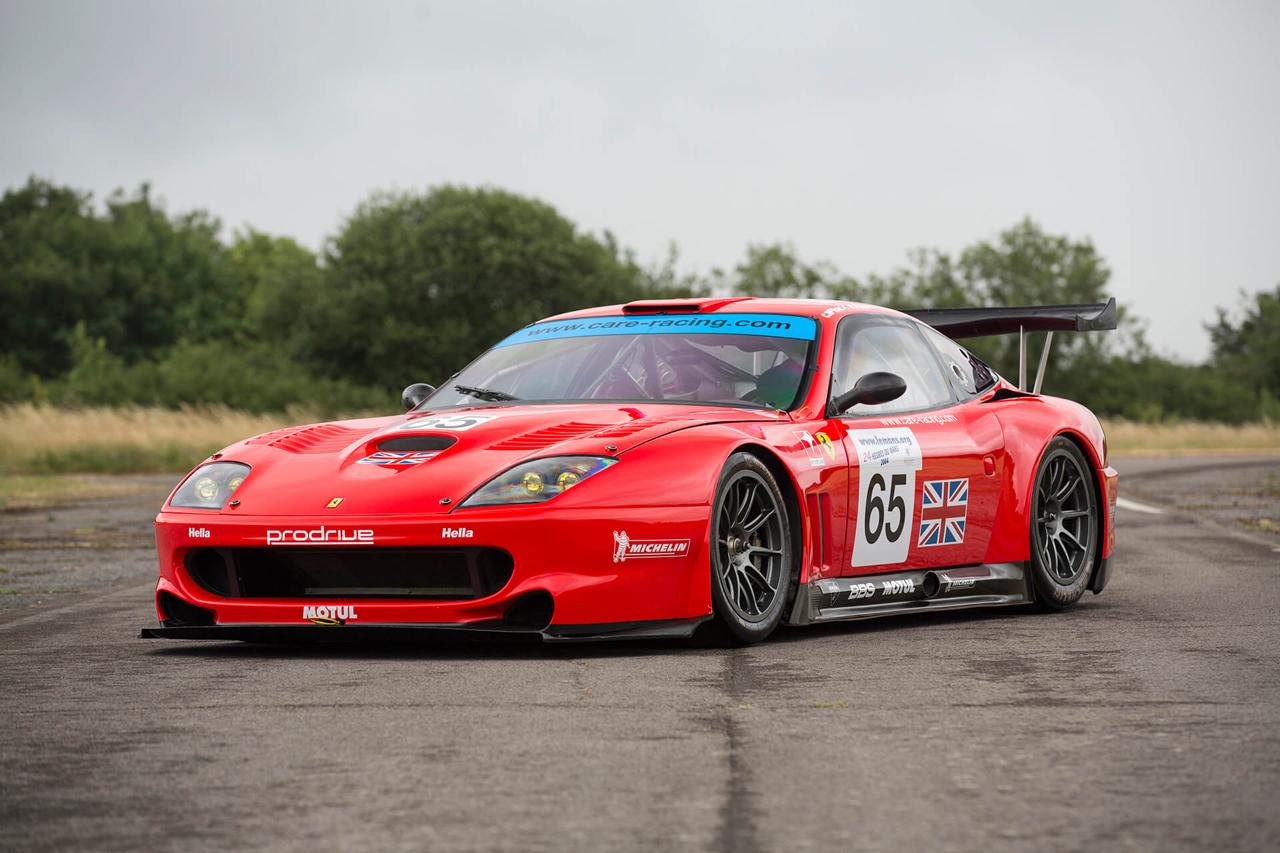 La Ferrari 550 Maranello GTS de Colin McRae... 27