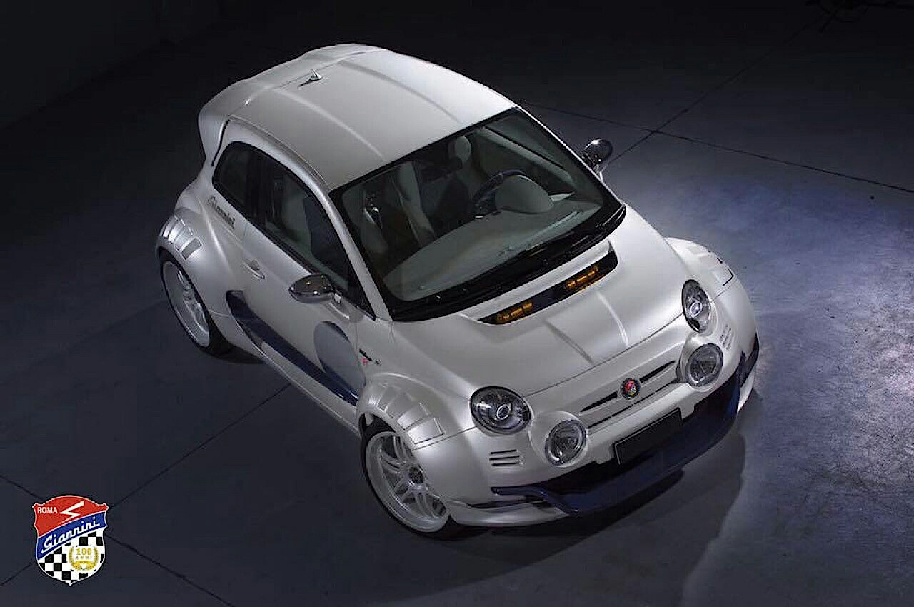 Fiat 500 Giannini 350 GP... Italienne sous amphet' ! 18