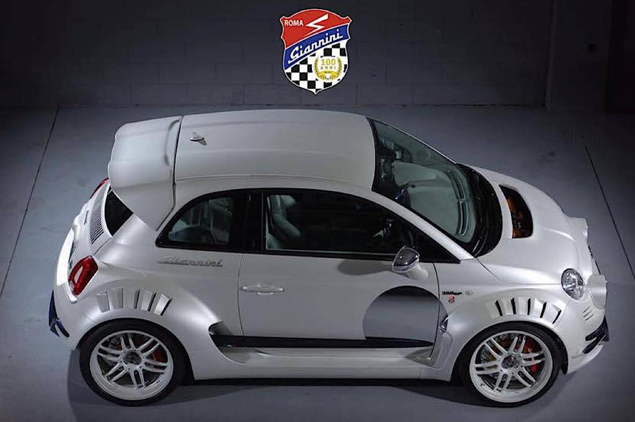 Fiat 500 Giannini 350 GP... Italienne sous amphet' ! 1