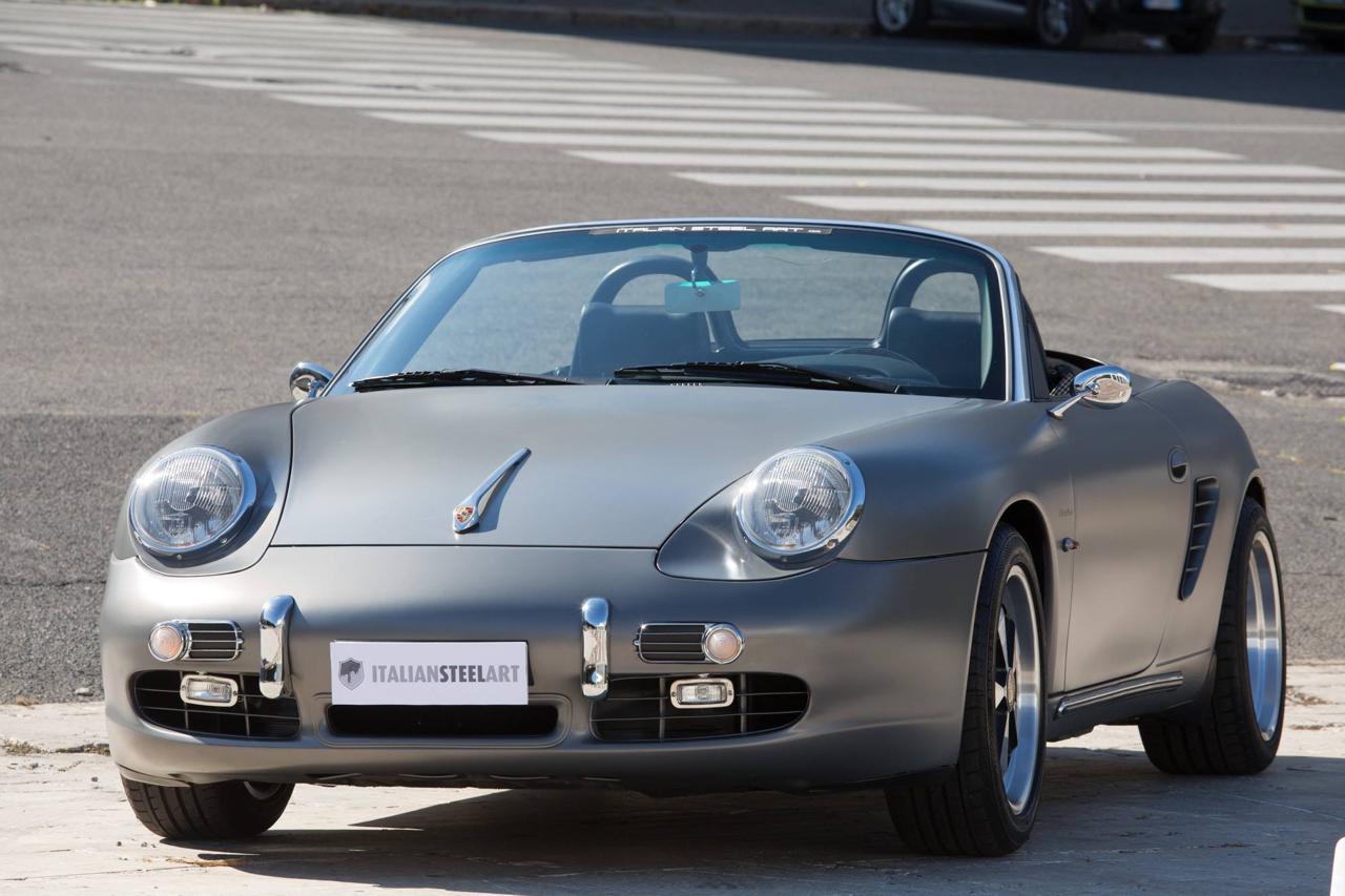 Porsche ItalSteelArt... Boxster + 356 = RetroMod ! 27