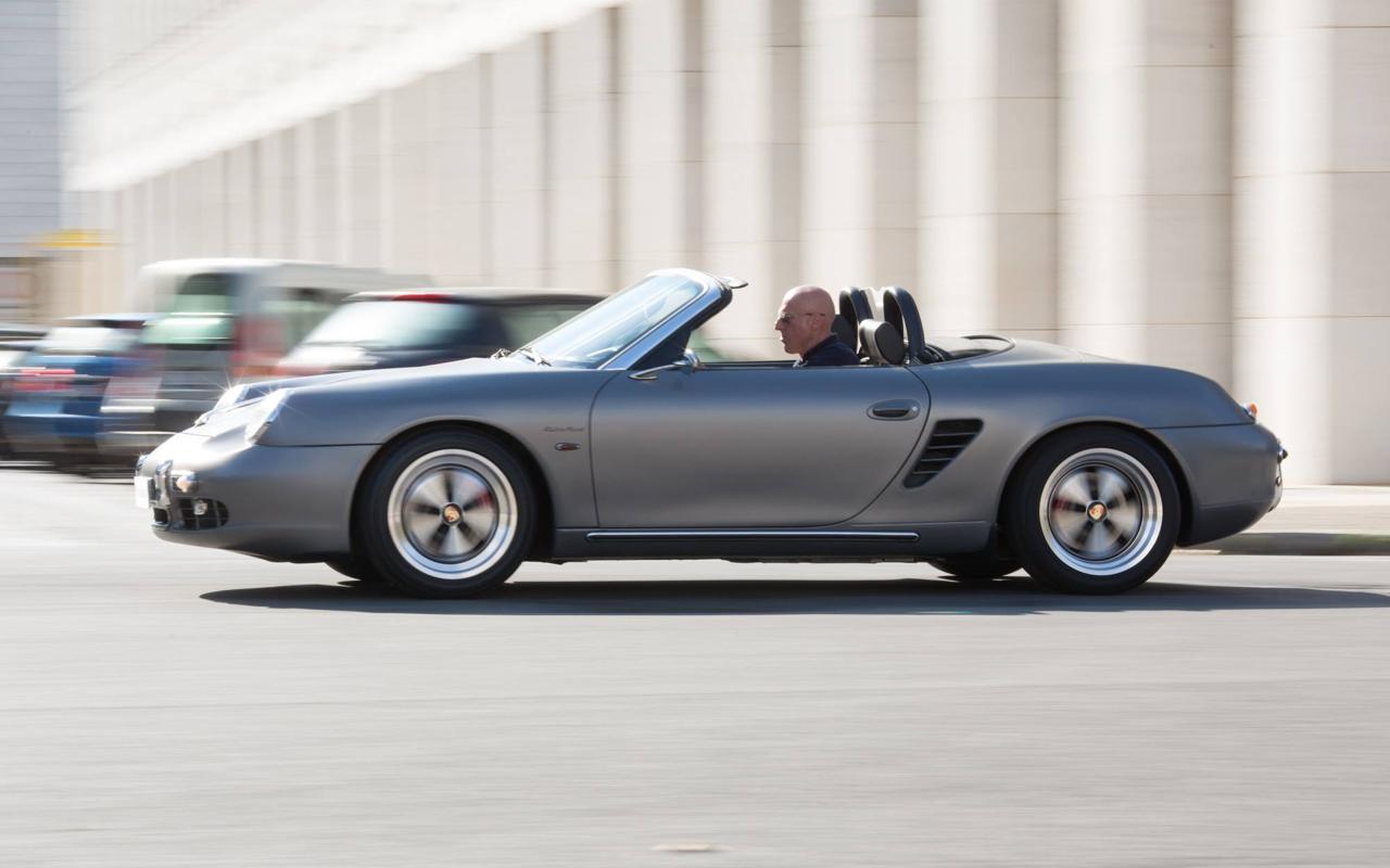 Porsche ItalSteelArt... Boxster + 356 = RetroMod ! 18