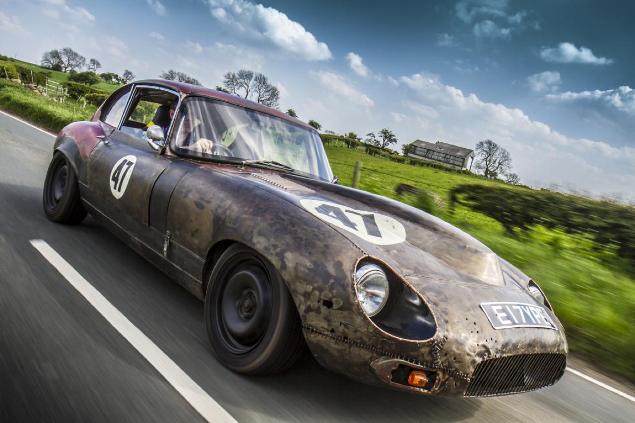 Rat Rod Mods en Jaguar Type E... Pour emmerder les puristes ! 27
