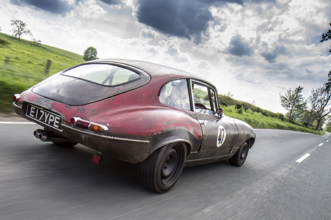 Rat Rod Mods en Jaguar Type E... Pour emmerder les puristes ! 32