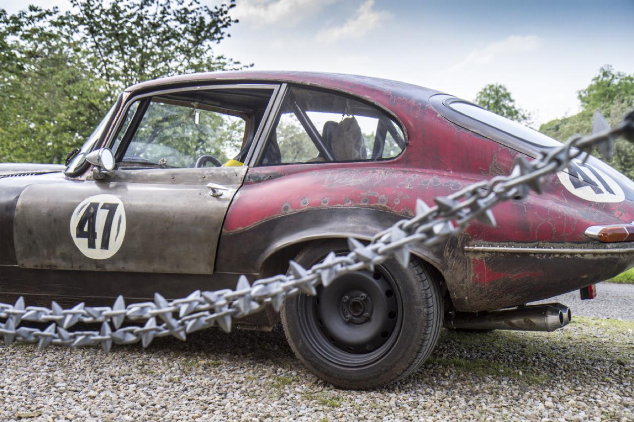 Rat Rod Mods en Jaguar Type E... Pour emmerder les puristes ! 33