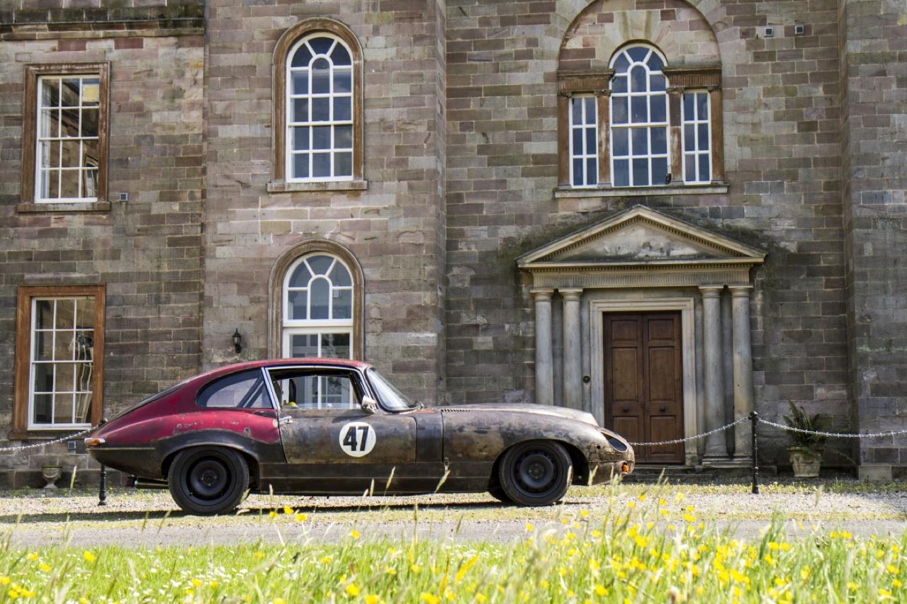 Rat Rod Mods en Jaguar Type E... Pour emmerder les puristes ! 41