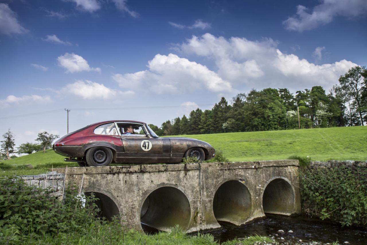 Rat Rod Mods en Jaguar Type E... Pour emmerder les puristes ! 40