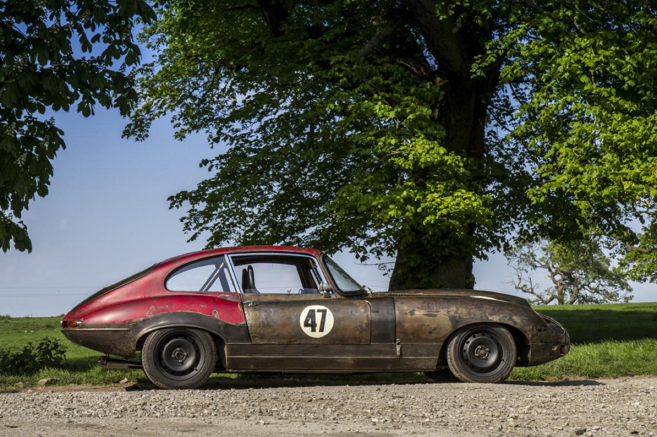 Rat Rod Mods en Jaguar Type E... Pour emmerder les puristes ! 39