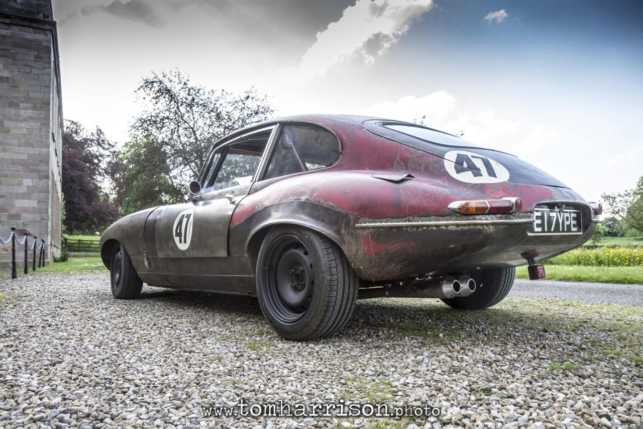 Rat Rod Mods en Jaguar Type E... Pour emmerder les puristes ! 25