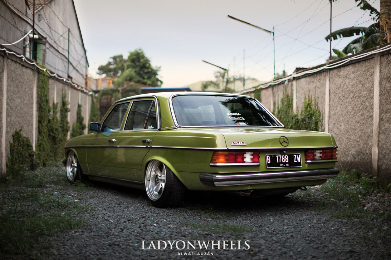 Mercedes 200E W123 : A beautiful legacy ! 19