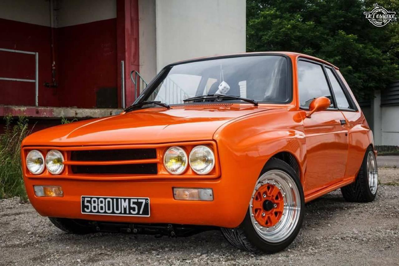 Peugeot 104 ZS sous stéroïdes ! 37