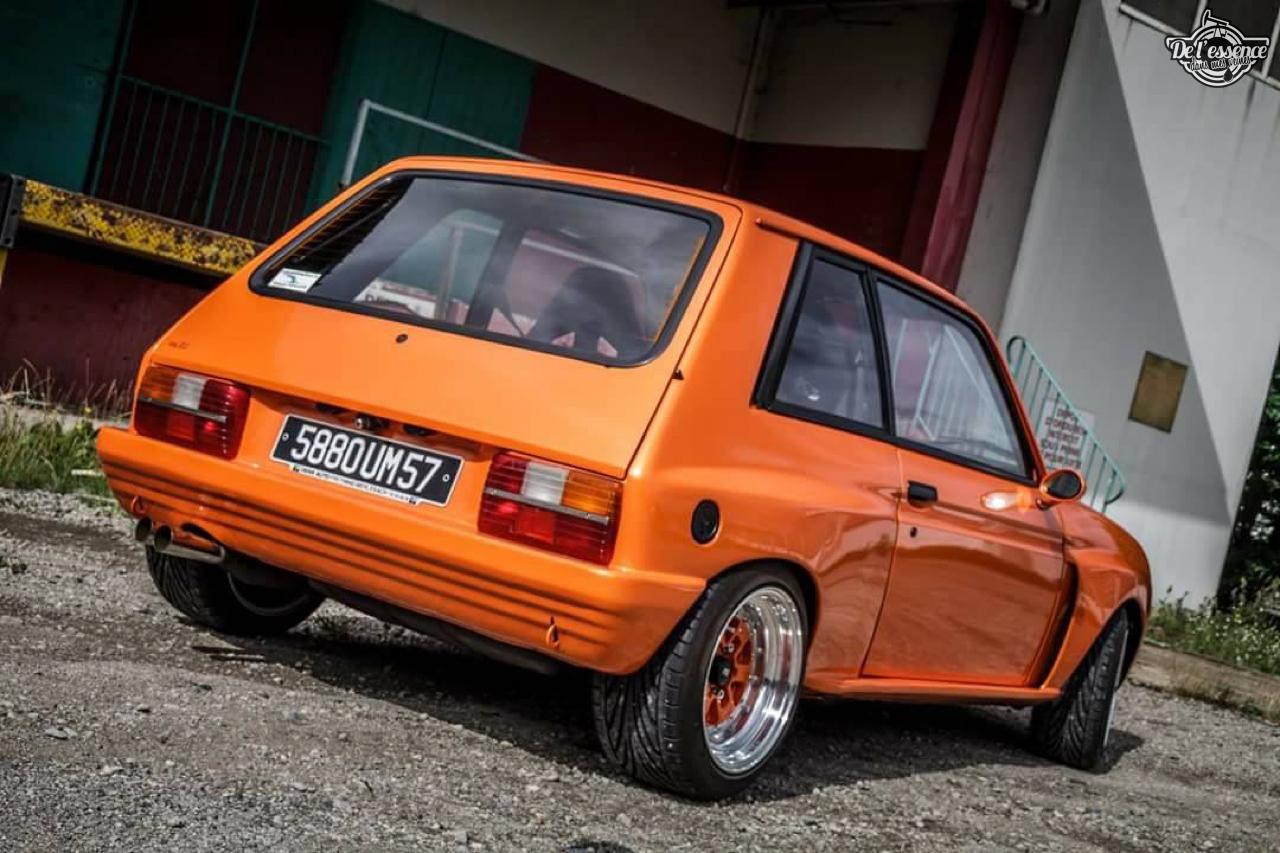 Peugeot 104 ZS sous stéroïdes ! 36