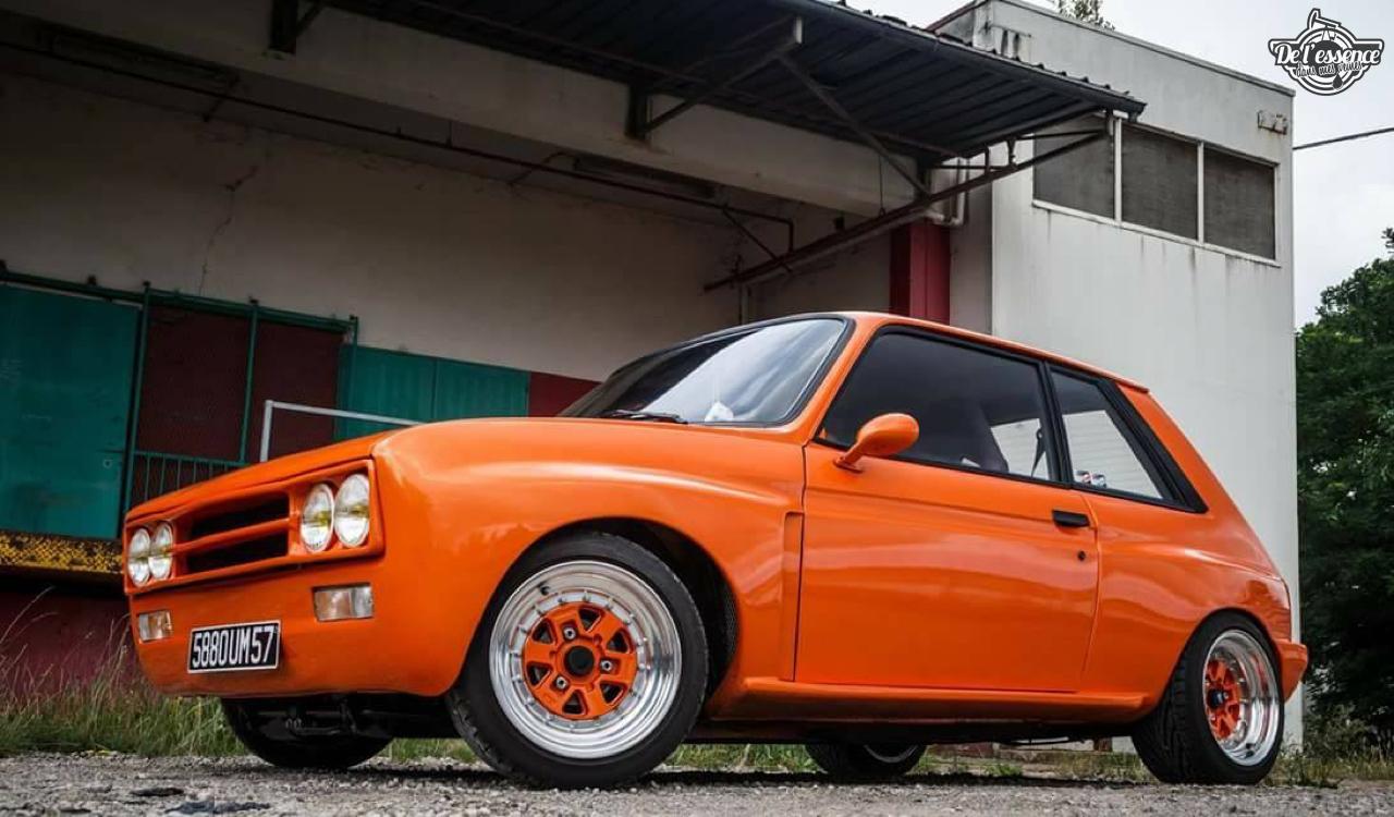 Peugeot 104 ZS sous stéroïdes ! 34