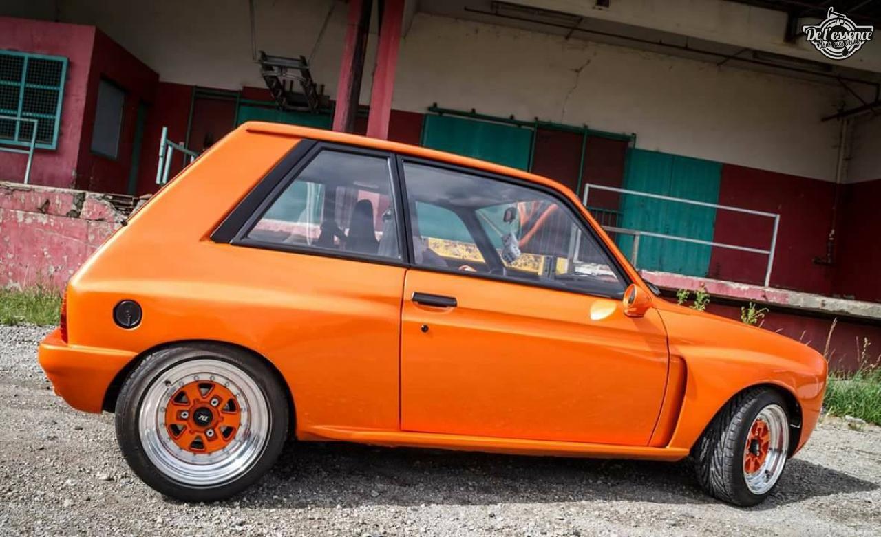 Peugeot 104 ZS sous stéroïdes ! 33