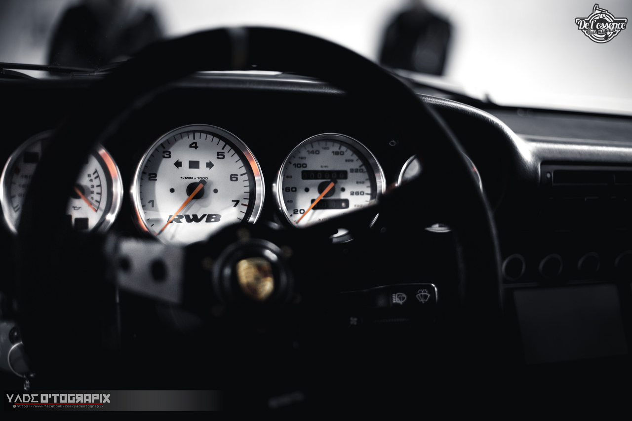 1ère Porsche 964 RWB France... Champagne ! 141