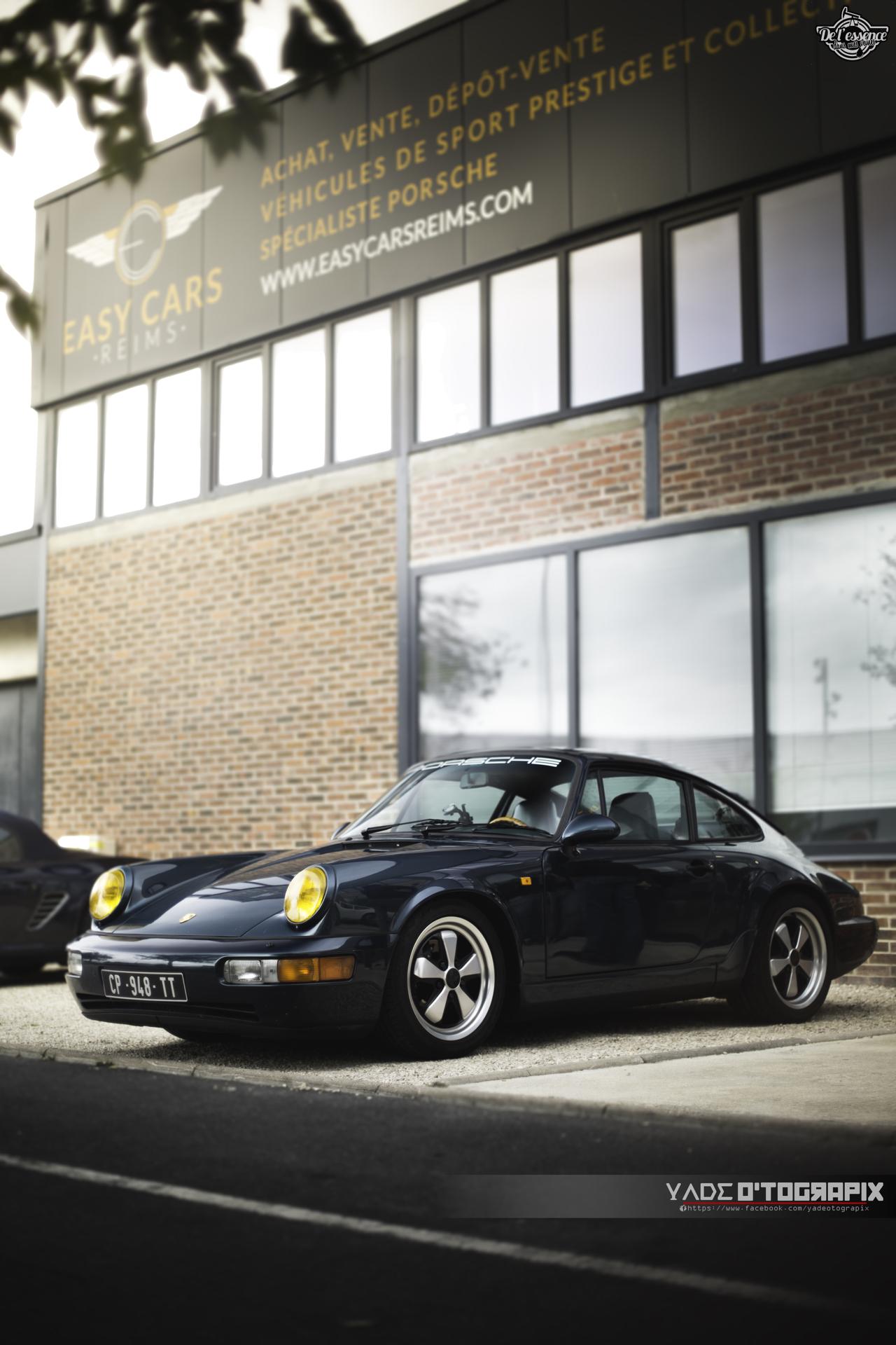 1ère Porsche 964 RWB France... Champagne ! 146