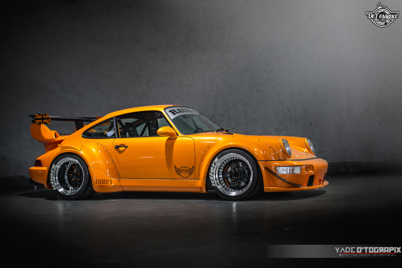 1ère Porsche 964 RWB France... Champagne ! 134