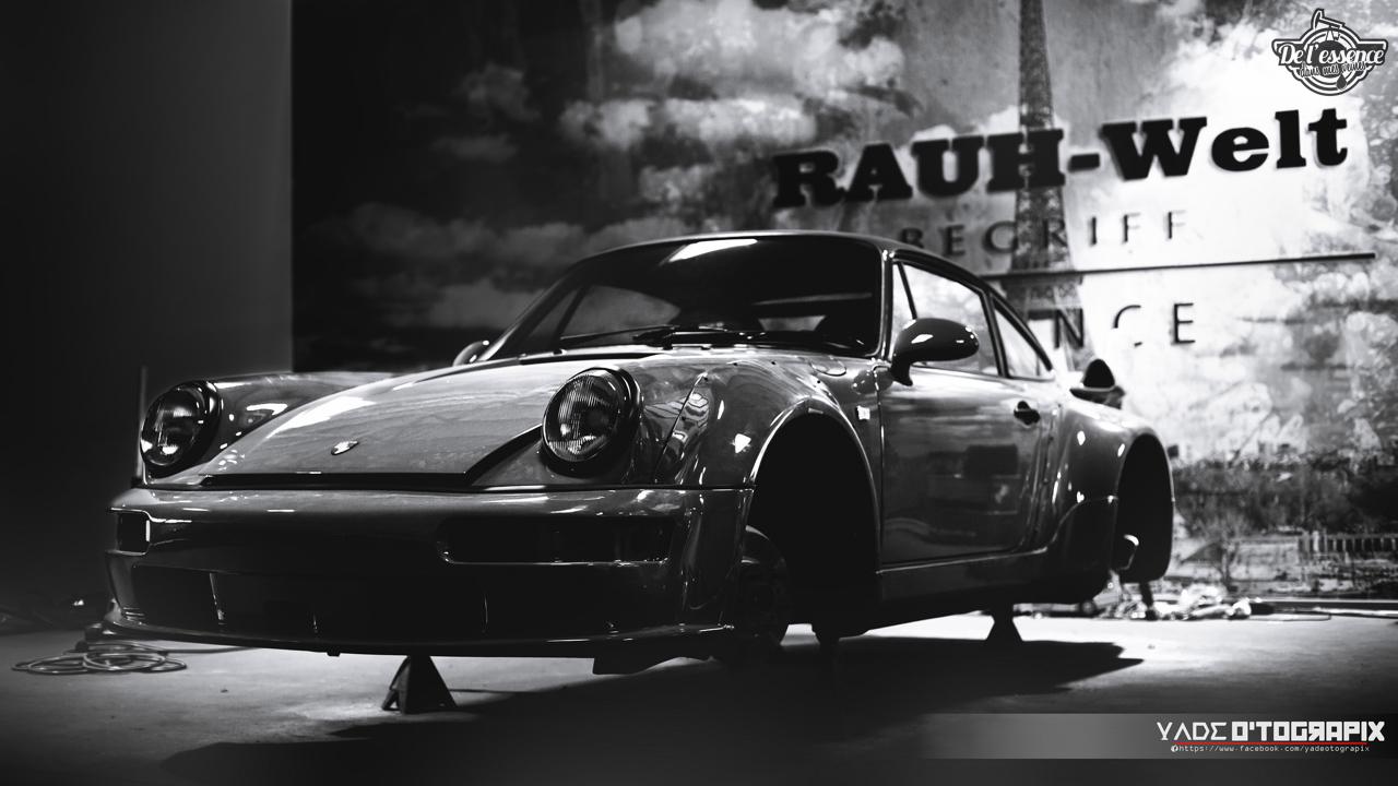1ère Porsche 964 RWB France... Champagne ! 130