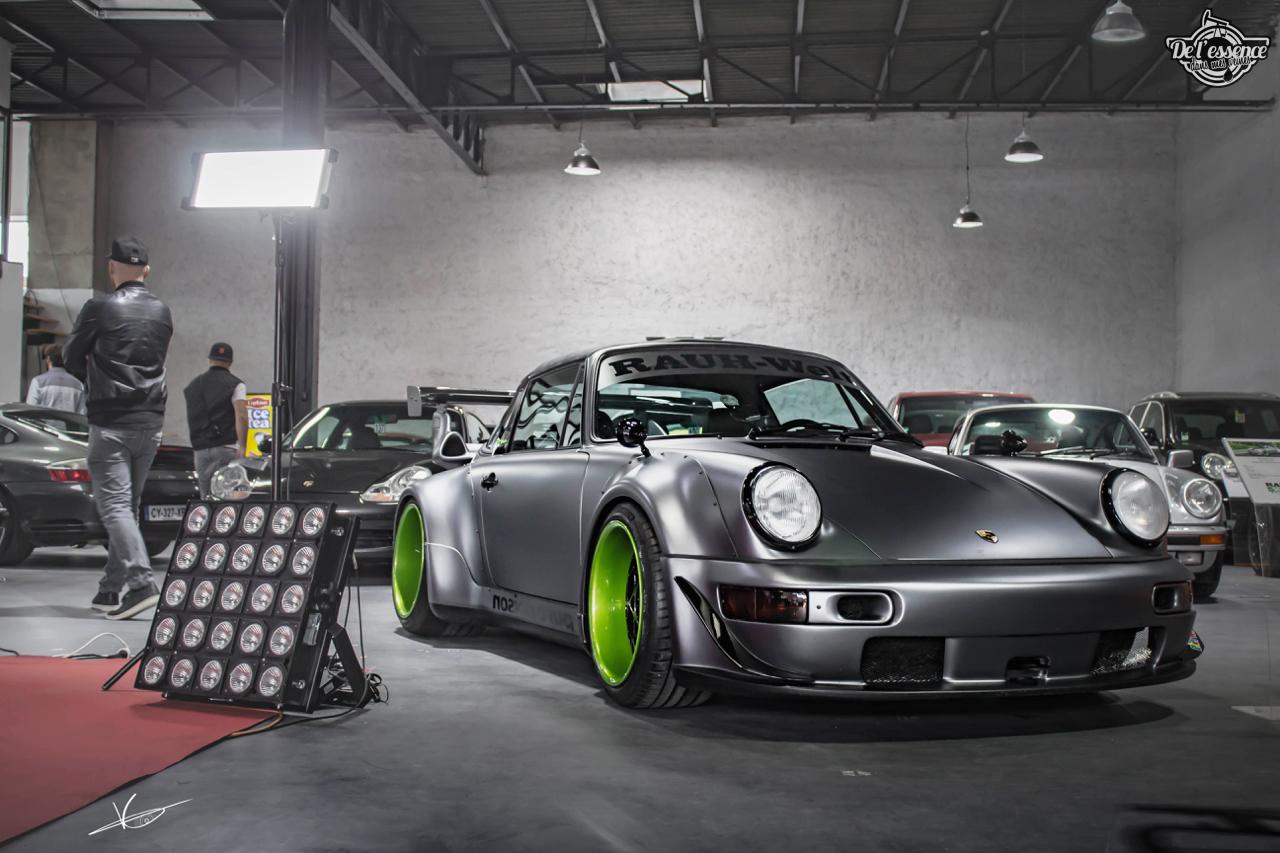 1ère Porsche 964 RWB France... Champagne ! 132