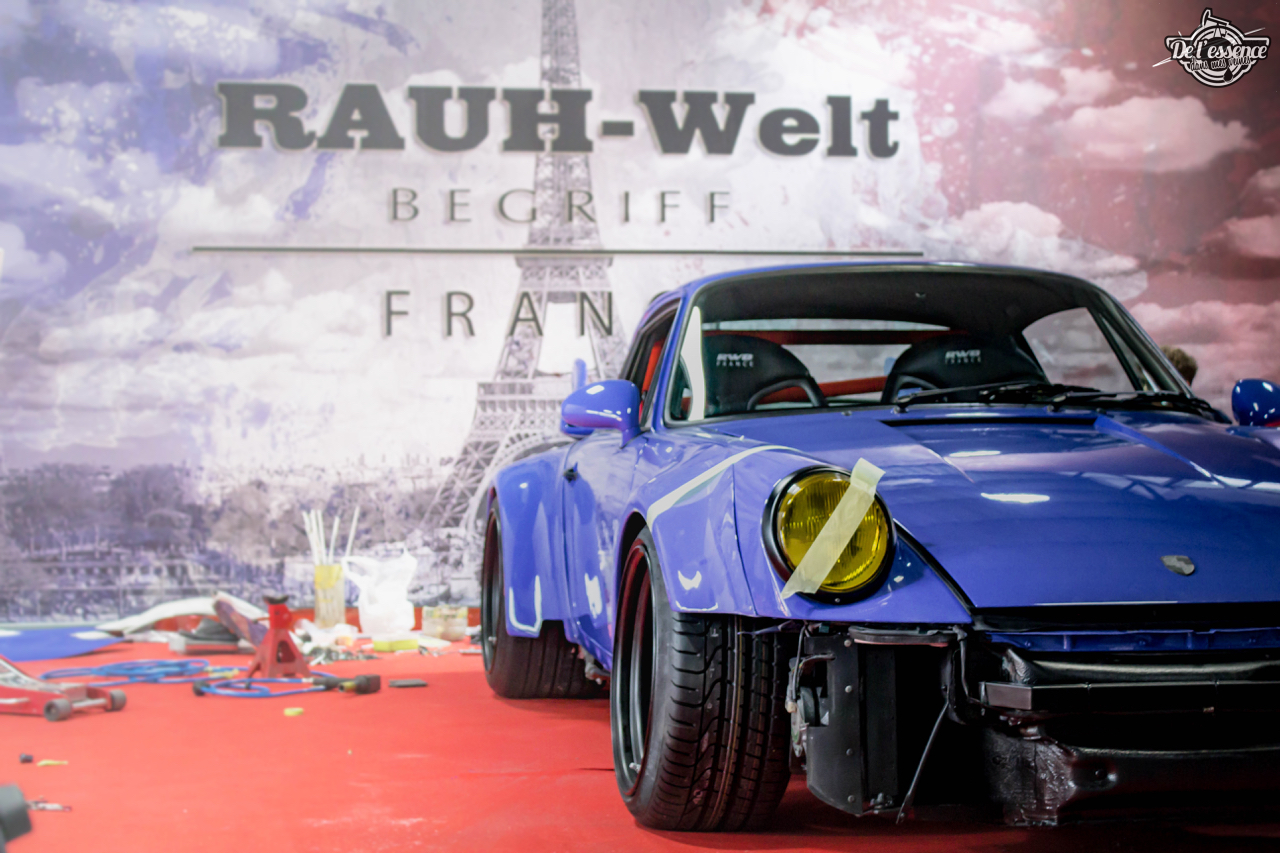 1ère Porsche 964 RWB France... Champagne ! 100