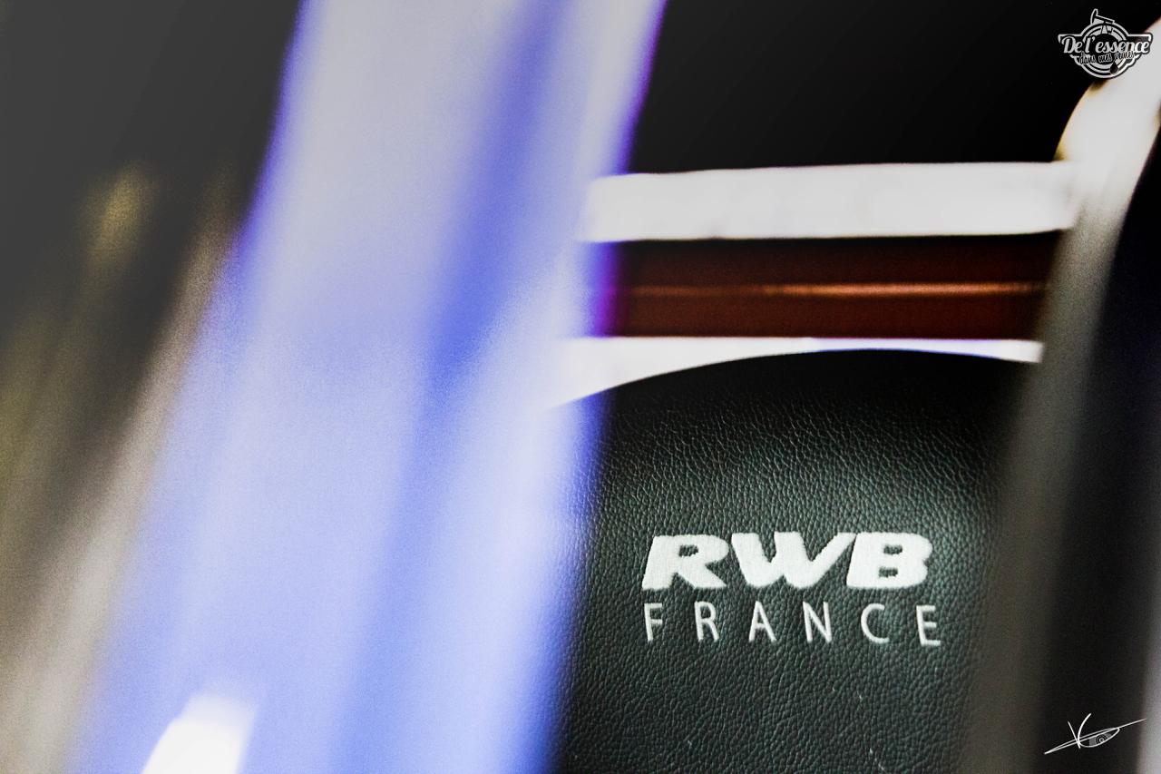 1ère Porsche 964 RWB France... Champagne ! 93
