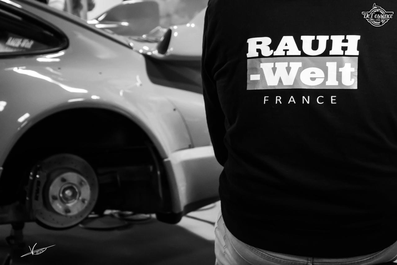 1ère Porsche 964 RWB France... Champagne ! 92