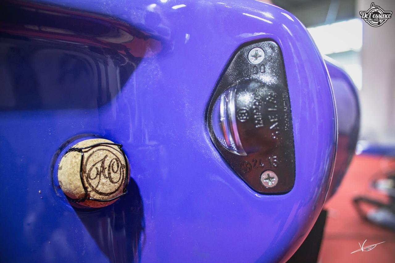 1ère Porsche 964 RWB France... Champagne ! 115