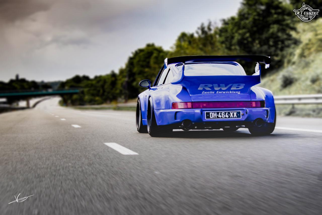 1ère Porsche 964 RWB France... Champagne ! 95