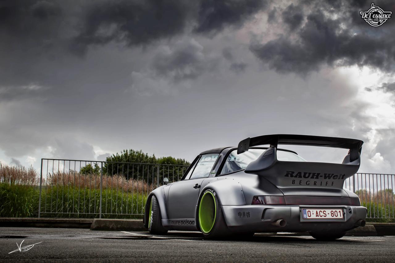 1ère Porsche 964 RWB France... Champagne ! 145