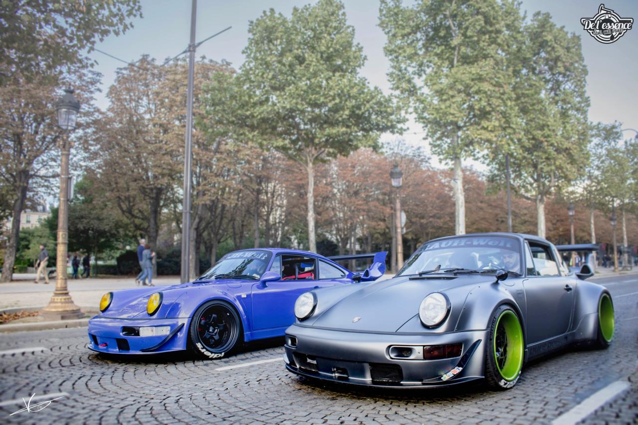 1ère Porsche 964 RWB France... Champagne ! 131