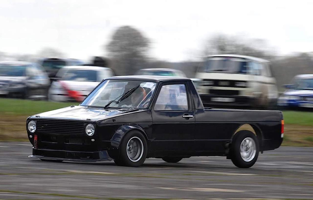 Hillclimb Monster : VW Caddy... ben oui, pour faire les courses ! 8