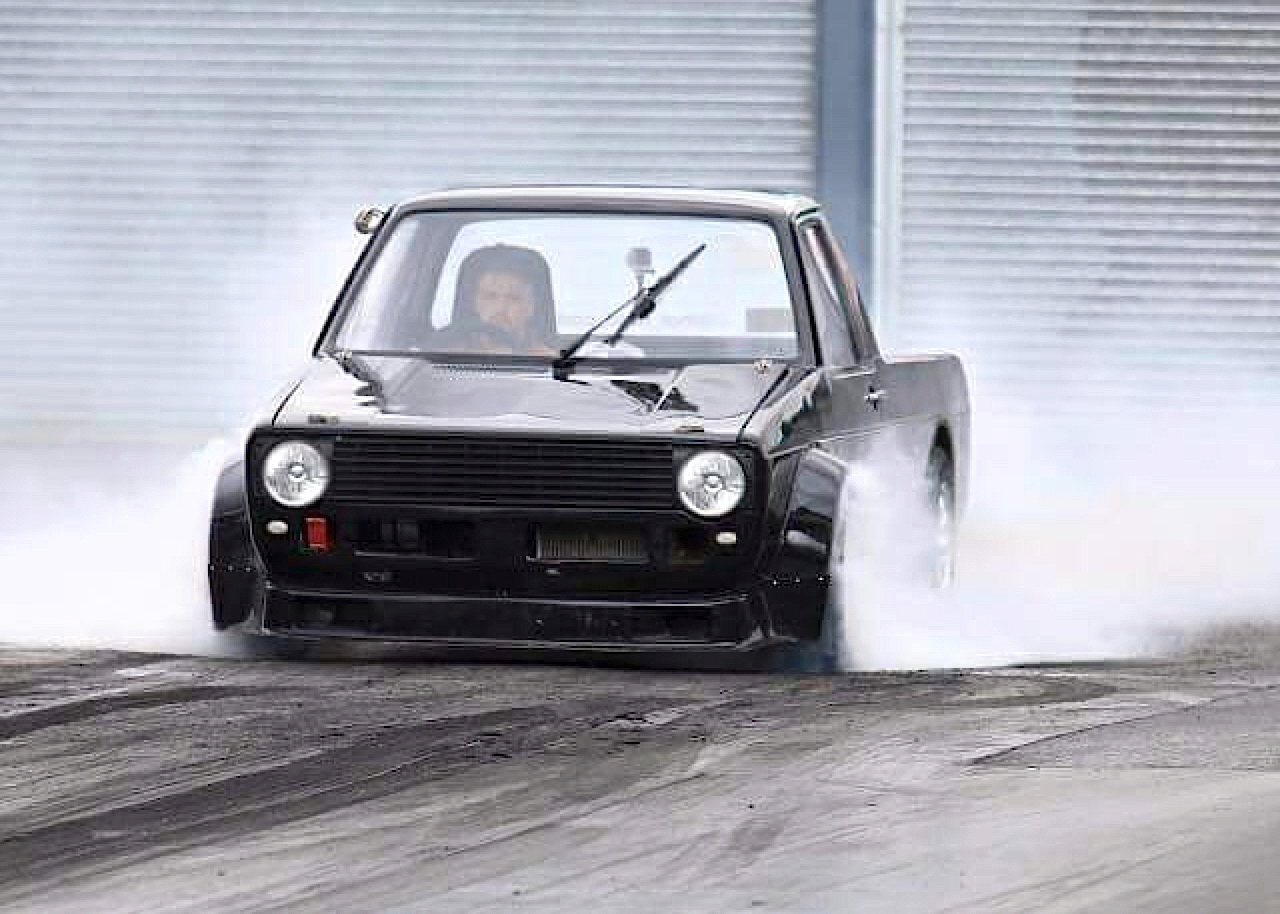 Hillclimb Monster : VW Caddy... ben oui, pour faire les courses ! 1