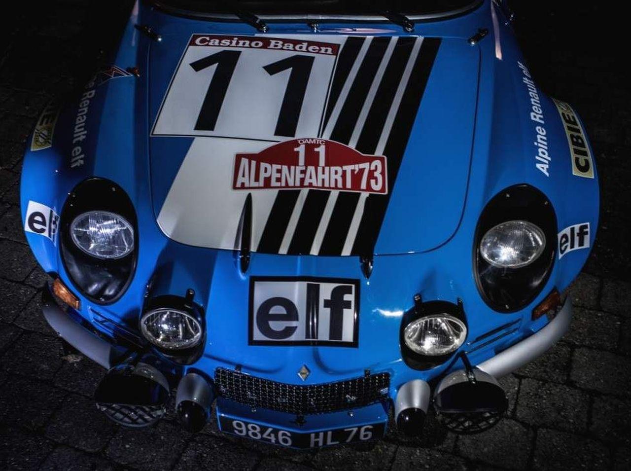 Alpine A110 Gr.4 - Passé... Présent ! 1