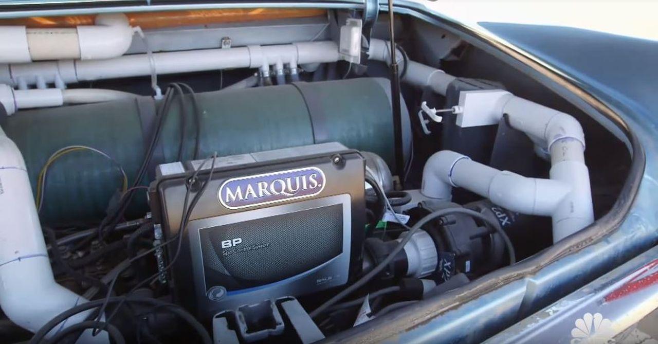 69' Cadillac DeVille - Besoin de fraîcheur ? Avec Jay Leno ! 5