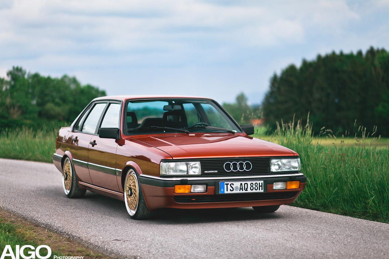 Audi 90 Quattro - Low & slow en BBS 2