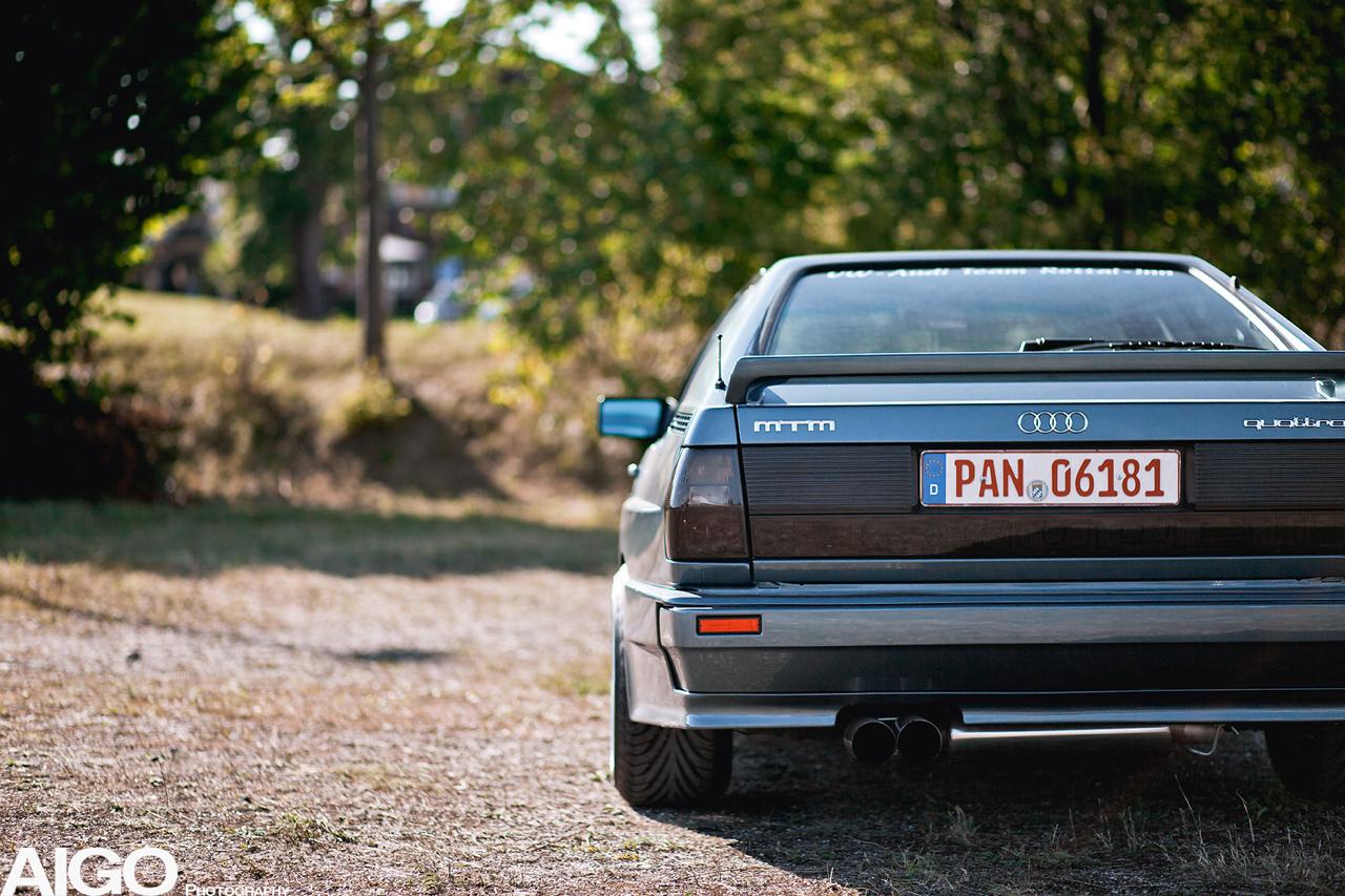 Audi Ur Quattro - 20v turbo by MTM ! 40