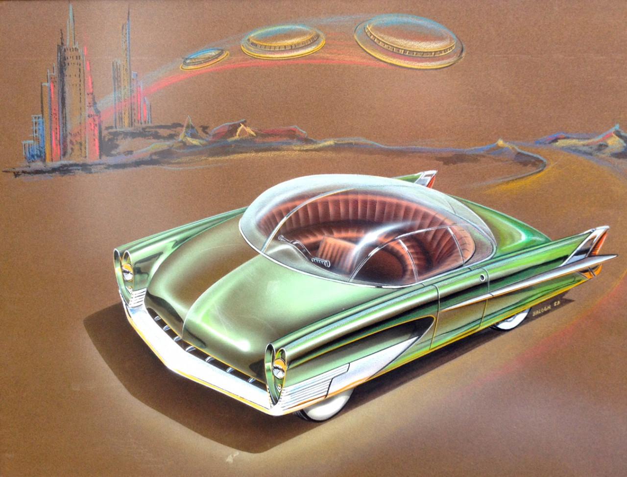 """""""Cars of the Future"""" - Les délires de l'An 2000 9"""