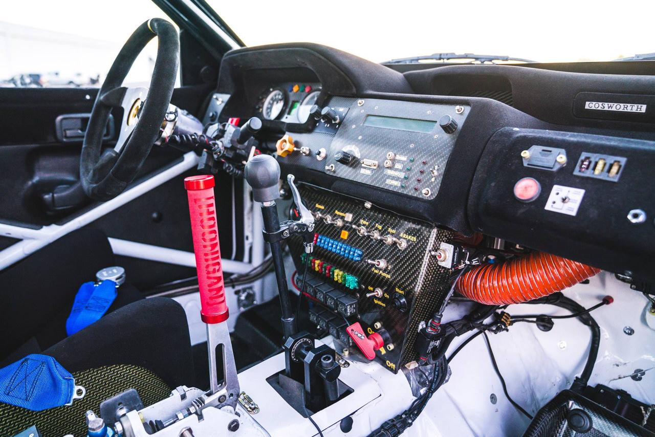 La dernière arrivée dans le garage de Ken Block : Une Ford Escort RS Cosworth 5