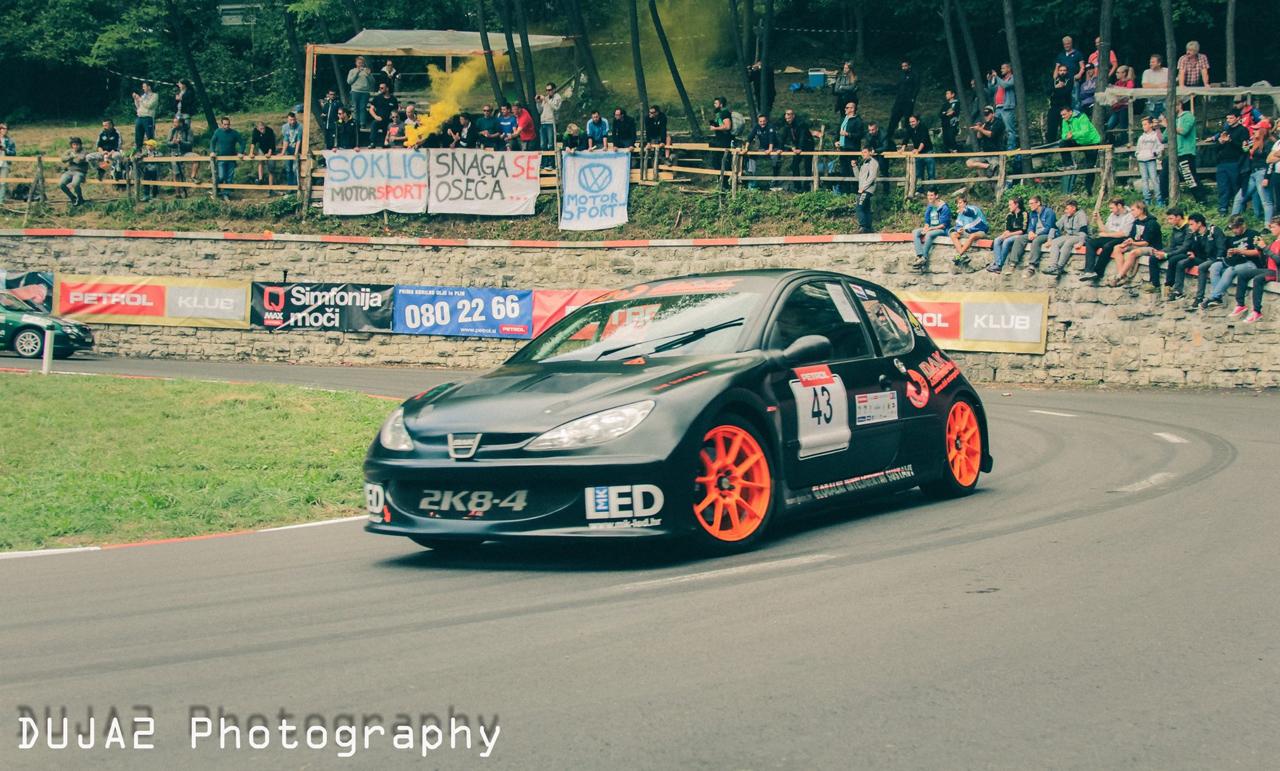 Hillclimb Monster : Peugeot 206 2K8-4... Avec 2 moteurs de 1000 GSX-R ! 12