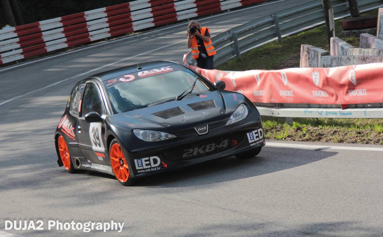 Hillclimb Monster : Peugeot 206 2K8-4... Avec 2 moteurs de 1000 GSX-R ! 14