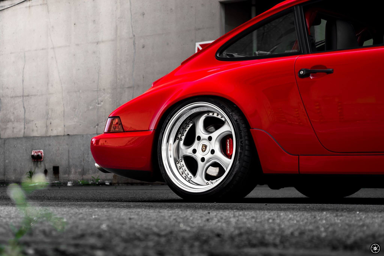Porsche 964 Carrera 4 : Simply Red...! 25