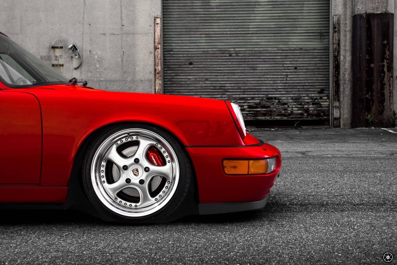 Porsche 964 Carrera 4 : Simply Red...! 27