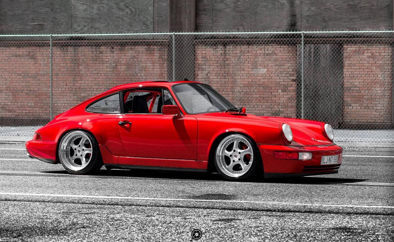 Porsche 964 Carrera 4 : Simply Red...! 39