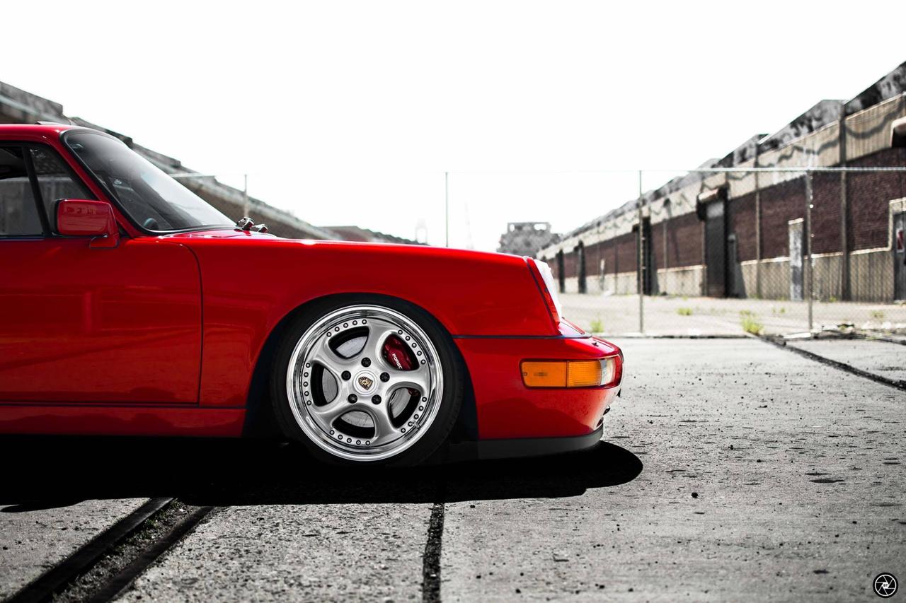 Porsche 964 Carrera 4 : Simply Red...! 41