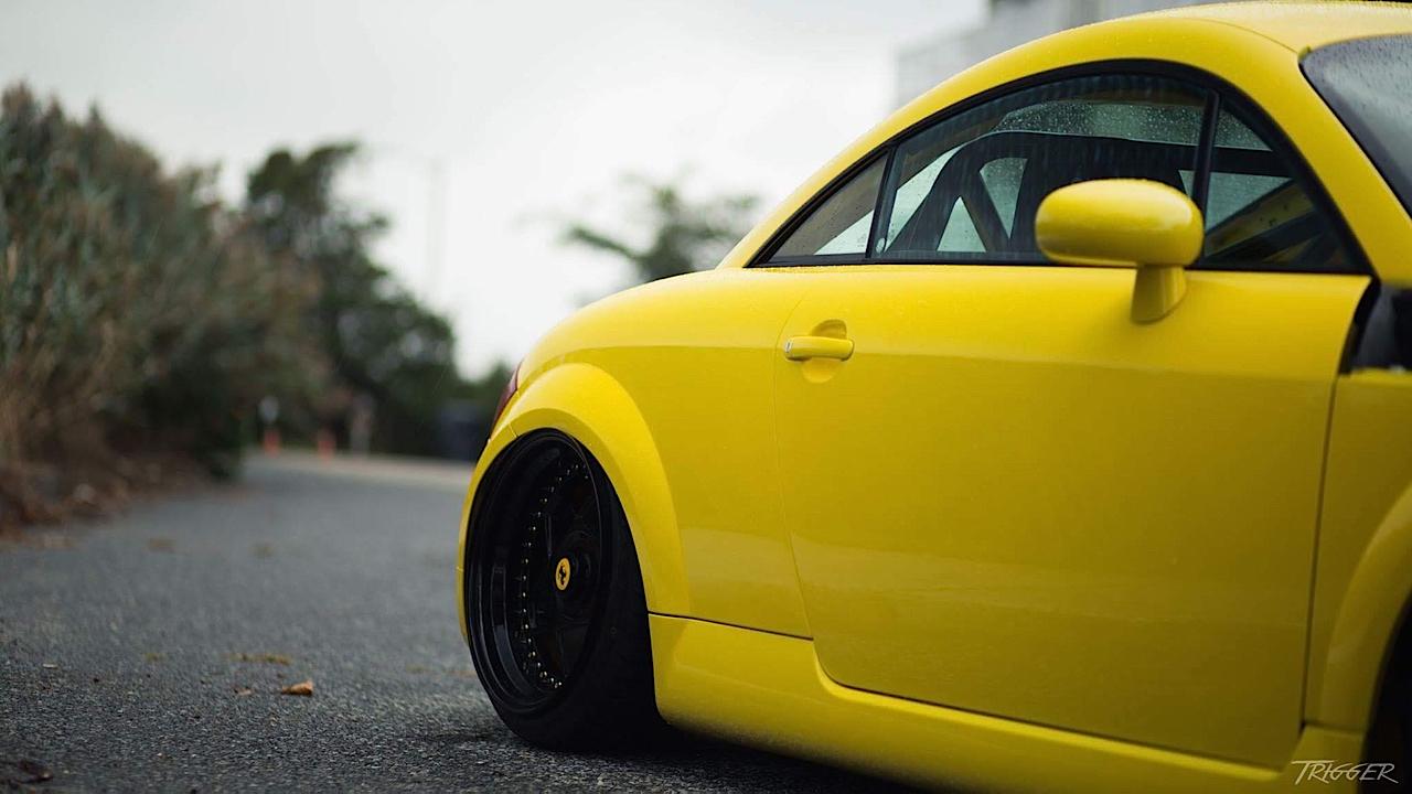 Audi TT 1.8T : Banana Pancake ! 34