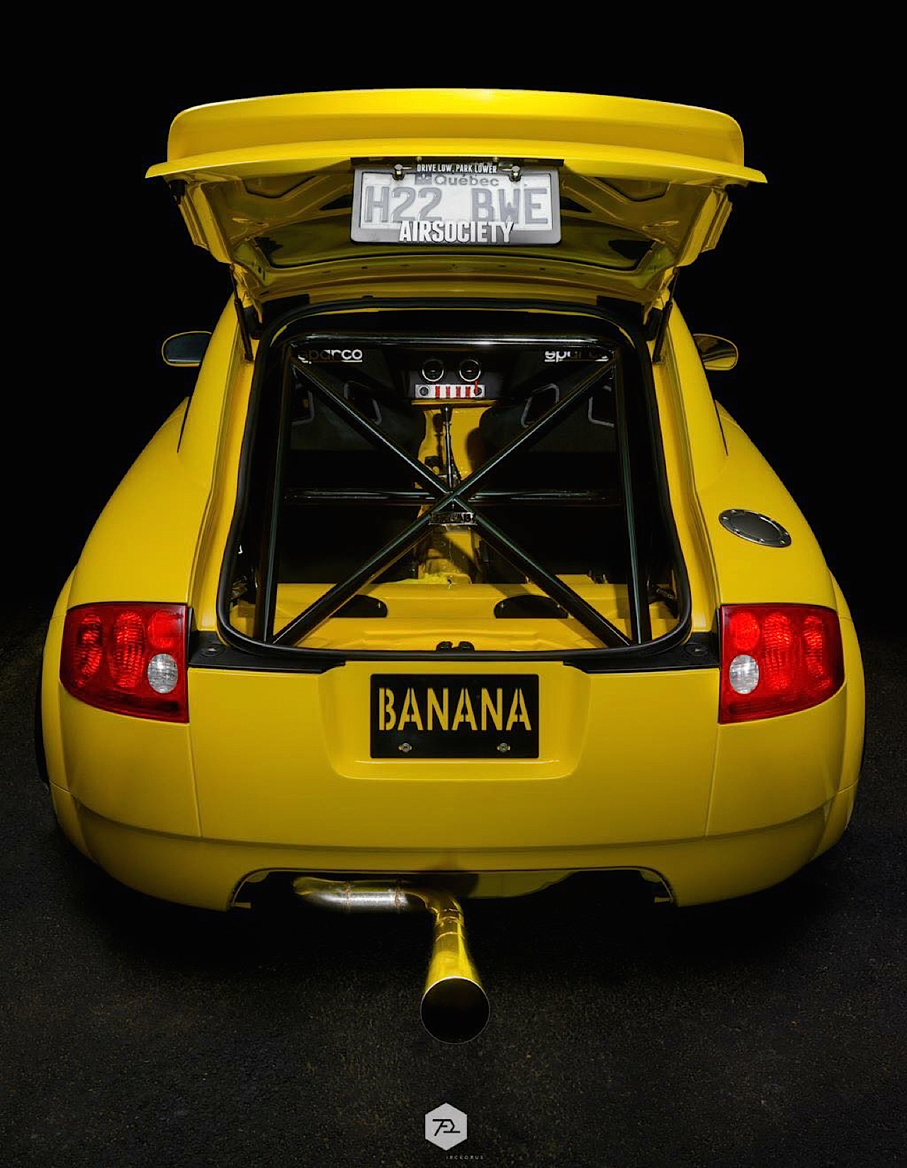 Audi TT 1.8T : Banana Pancake ! 40