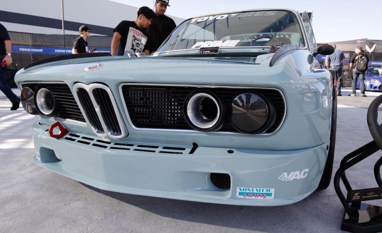 "'73 BMW 3.0 CSL.... Sema 2K17 ""Best Euro"" Gran Turismo Award ! 2"